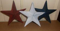 Country Crafting Momma : Handmade Cardboard Barn Stars for Primitive Decor