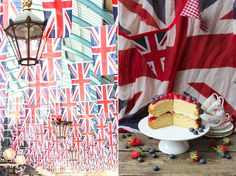 Miss Foodwise | Celebrating British food and Culture: Britannia sandwich cake - Best of British