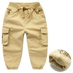 Pantalon de Jogging en Coton décontracté pour garçons avec Ceinture  élastique Taille Ajustable Pantalon Jogger Pantalon 60bdd2f1b34