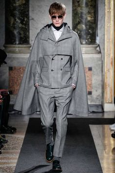 Ports 1961 | Fall 2014 Menswear Collection | Style.com, this cloak
