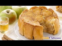 The charlotte is a delicious dessert: this is one of the most popular charlotte recipes, lined with ladyfingers and filled with apples, flavored with cinnamo...