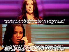 khloe kardashian funny quotes