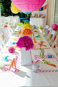 trendy birthday party decorations - Google Search