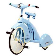 The French even make beautiful tricycles