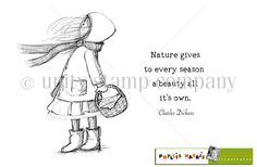"This adorable collector's stamp kit is from Illustrator Phyllis Harris.  This kit contains 2 stamps.  She is an artist for the popular HIGHLIGHTS magazine for children as well as stamp illustrator for Unity Stamp Company.  She has SEVERAL releases with Unity – and you simply can click HERE.  Girl measures approximately 3.25"" x 4"".  ""Nature gives to every season a beauty all it's own"" sentiment measures approximately 1.75"" x 1.75"".  All Unity Stamps are pre-cu..."