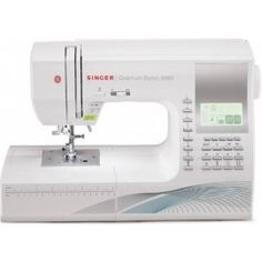 Singer Quantum Stylist Stitch Function) Computerized Sewing Machine with Extension Table, Bonus Accessories and Hard Cover, 9960 Sewing Machines Best, Sewing Machine Reviews, Sewing Hacks, Sewing Crafts, Sewing Projects, Sewing Tips, Sewing Tutorials, Sewing Ideas, Machine Singer