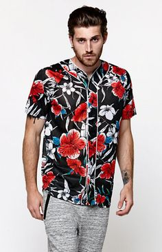 Shop for baseball on Etsy, the place to express your creativity through the buying and selling of handmade and vintage goods. Men Street, Street Wear, Camisa Floral, Urban Fashion, Mens Fashion, Urban Style Outfits, Vogue, 4th Of July Outfits, Baseball Jerseys