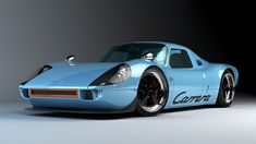 Back to the future... Porsche P/904 design on new Boxster chassis. Too Cool