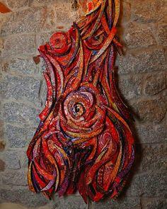 ARIANNA...(IL FILO DI ARIANNA) #mosaicodinamico #mosaic_menossi  #dinamicmosaic