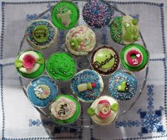 Cupcakes for baptism