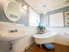 Nothing but class in this ensuite, the deep slipper tub is so relaxing! Photo by Digital Video Listings.