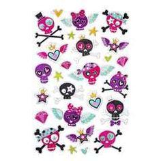 Panduro Hobby - Stickers foil Crazy skulls