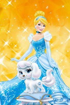 Disney Princess Palace Pets - Cinderella and Pumpkin Walt Disney Princesses, Disney Princess Drawings, Disney Princess Pictures, Disney Pictures, Disney Drawings, Disney Magic, Disney Love, Disney Art, Disney Wiki