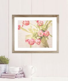 Tulip Photo, Flower Photography, pink tulips, bathroom decor, wall art, floral print, wall decor, flower print, flower photo, tulip print, by semisweetstudios on Etsy https://www.etsy.com/listing/225376007/tulip-photo-flower-photography-pink