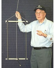 A Hanging Rectangular Loop Antenna for Radios, Ham Radio License, Radio Shop, Emergency Radio, Ham Radio Antenna, Coding For Kids, Morse Code, Tv, Chef Jackets