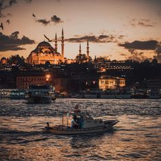 Credit to : Golden hour charm ✨ (📷: Wonderful Places, Beautiful Places, Istanbul City, Istanbul Travel, Turkey Travel, Hagia Sophia, City Photography, Dream Vacations, Paris Skyline