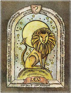 Leo the Lion Zodiac Art, Leo Zodiac, My Zodiac Sign, Leo And Cancer, Leo And Virgo, Leo Horoscope, Astrology Leo, Leo Lion, Leo Tarot