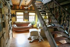 David and Jennifer's Handmade Home, well that is just amazing, cozy and comfortable