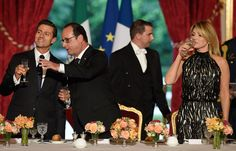 Peña en París: El dinero... más fuerte que los derechos humanos