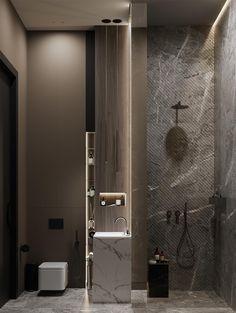 Washroom Design, Toilet Design, Bathroom Design Luxury, Luxury Homes Interior, Home Interior Design, Interior Colors, Interior Modern, Interior Ideas, Remodeling Mobile Homes