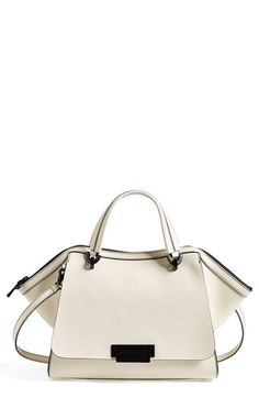 Zac Zac Posen 'Eartha' Double Handle Leather Satchel available at #Nordstrom
