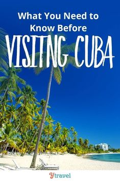 What to know before visiting Cuba. We take you through the pros and cons to travel in Cuba as well as some of the helpful travel logistics for your Cuban vacation. Click to read more. #cuba #traveltips #solotravel #femaletravel #caribbean #island #beaches