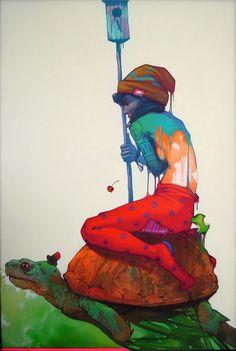 Surreal Paintings by Etam Cru