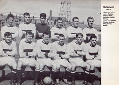 MOTHERWELL Back Row, Front Row, The Row, Photo Wall, Photograph