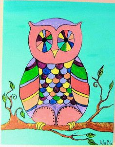 Spotted Owl by adabdesigns on Etsy, $30.00