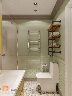 Фото дизайн ванной комнаты из проекта «Дизайн проект трехкомнатной квартиры 88 кв.м., ЖК «Северная Долина», американская классика с элементами LOFT»