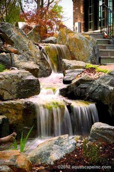 Beautiful backyard waterfall ideas (67)