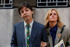 Paul and Linda McCartney. Beatles Photos, The Beatles, My Love Paul Mccartney, Wings Band, Queen Meme, Sir Paul, First Crush, The Fab Four, Great Love