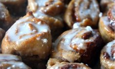 Vegan Mini Cinnamon Buns :: Vital Juice