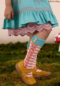 Once upon a time...Fall 2016: Needle and Thread Dress and Grimms Knee High Socks