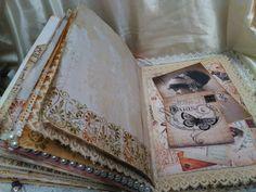 Another Vintage Romantic Junk Journal for Meg's Garden