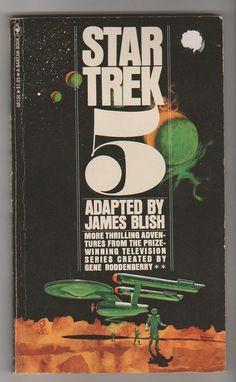 1975 Star Trek 5 James Blish.  VF Bantam by RubbersuitStudios #vintagebooks #startrek