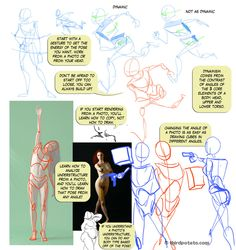 "#Tutorial ""Notes on Gesture and Photo Ref"" by Fyuvix.deviantart.com on #deviantART"