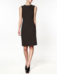 I want to have an Audrey Hepburn moment: pair this with pointy black flats, and pin my hair up.