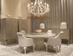 Visionnaire IPE Cavalli Daydream Luxury Italian Designer Dining Table in Beveled Glass