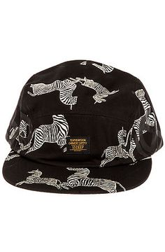 c5dd32de1a6 10 Deep Hat Ironsides Navigator 5 Panel in Black Streetwear Fashion