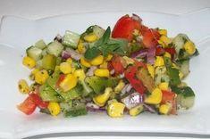 Rezept: Bunter gemischter Salat mit Honig-Senf-Dressing Bild Nr. 3