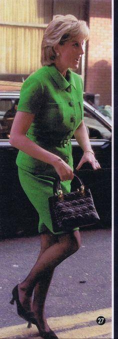 1996 January 16 Princess Diana Classy green