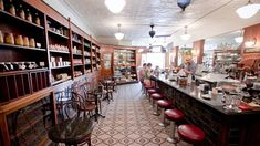 Brooklyn Farmacy and Soda Fountain- 513 Henry St, Carroll Gardens. One swell joint! Grab a soda or a sundae!