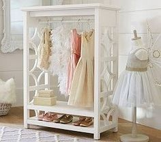 Pottery Barn Kids' bedroom furniture is designed for quality and safety. Shop kids furniture to decorate with your personality and theirs. Dress Up Wardrobe, Kids Wardrobe, Wardrobe Rack, Wardrobe Design, Dress Up Closet, Open Wardrobe, Bedroom Wardrobe, Playroom Furniture, Kids Furniture