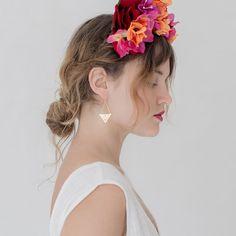 POLLI / Gold Tula Earrings