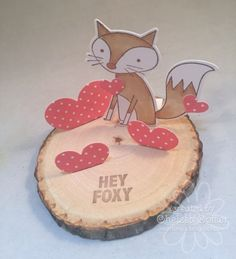 Chelsea's Creative Corner: Day 11 .... Hey Foxy ... Love making 3D projects with A Muse Studios!