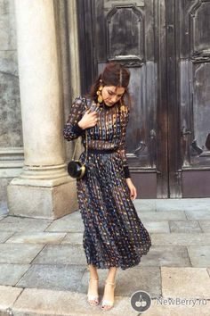 Модный блоггер Negin Mirsalehi