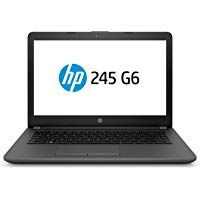 HP 245 6BF83PA 2018 14-inch Laptop (A6-9225/4GB/1TB/DOS/Integrated Graphics) Black