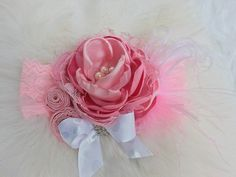 Hey, I found this really awesome Etsy listing at… Vintage Headbands, Baby Girl Headbands, Girls Boutique, Baby Boutique, Petti Romper, Baby Girl Fashion, Vintage Lace, Fascinator, Divas