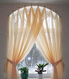 Custom Drapery Panels Curtains Valances and other Things: Window Treatments hanging from what? Knobs, Rods, Hooks, and Whatever Else You Can Think Of